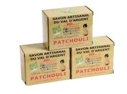 Lot de 3 Savons au Patchouli
