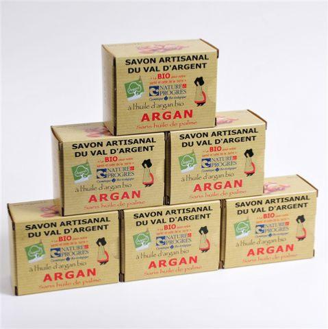 Lot de 6 Savons à l'Argan