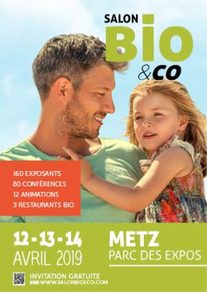 A METZ : du 12 au 14 avril au salon Bio§Co