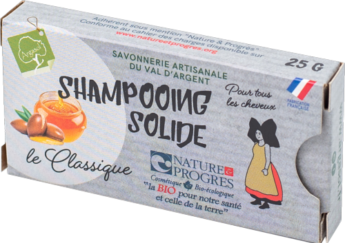 Mini shampoing solide 25g