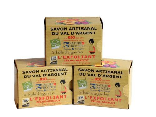 Lot de 3 Savons L'Exfoliant