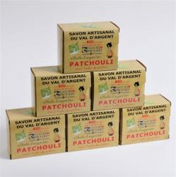 Lot de 6 Savons au Patchouli