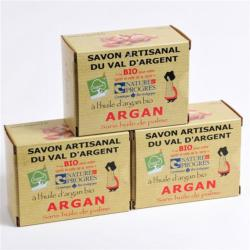 Lot de 3 Savons à l'Argan